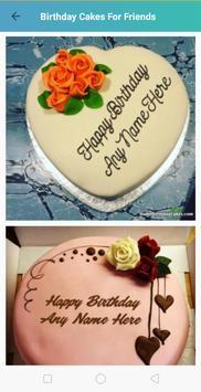 Birthday Cake With Name And Photo apk screenshot