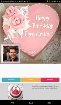 Birthday Cake With Name And Photo 🎂 screenshot 8