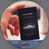 Name Card Design Ideas icon