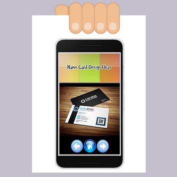 Name Card Design Ideas apk screenshot