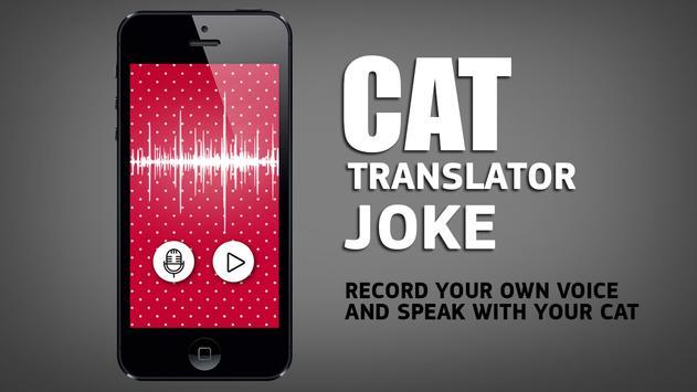 Cat translator joke apk screenshot