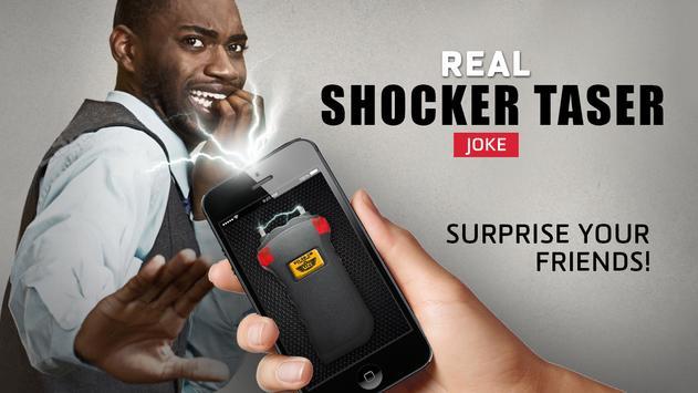 Real shocker taser joke apk screenshot