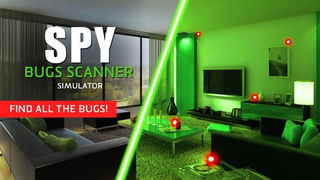 Spy: bugs scanner simulator screenshot 3