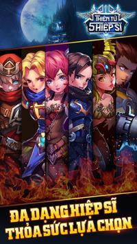 Thiên Tử -  5 Hiệp Sĩ apk screenshot