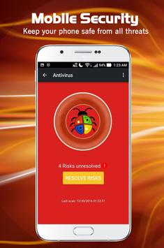 Free Antivirus-Mobile Security poster
