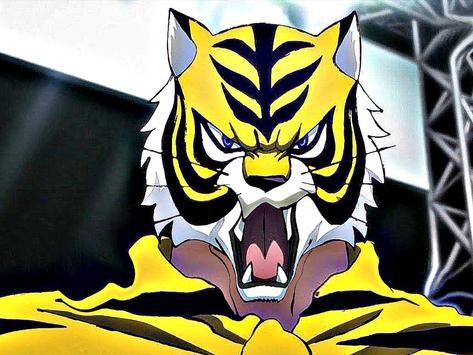 the masked Tiger poster