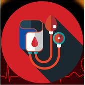 Blood Pressure Simulator Prank icon