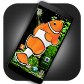 Fish in mobile touch Prank icon