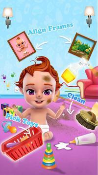 Sweet Newborn Baby Girl: Daycare & Babysitting Fun poster