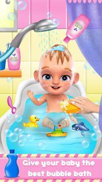 Sweet Newborn Baby Girl: Daycare & Babysitting Fun screenshot 1
