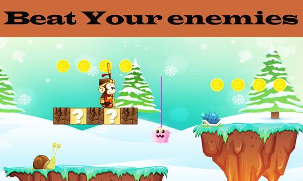 Kong Hero Battle Run : Jungle Adventure Side Game screenshot 2