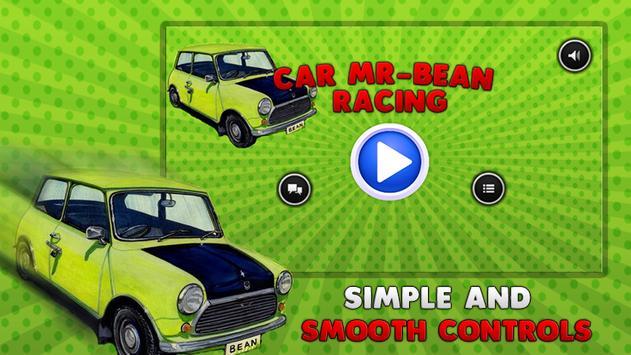 🎬 Racing Car Mr-Bean poster