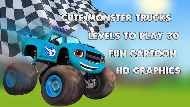 Blaze Dash Monster Truck apk screenshot