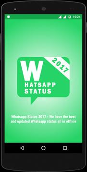 Latest Whats Status 2018 for Whatsapp poster