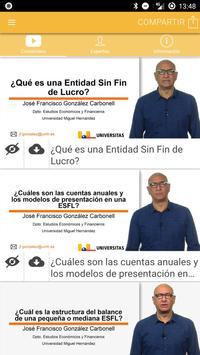 Nanocurso Entidades sin Fines Lucrativos poster