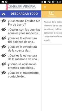 Nanocurso Entidades sin Fines Lucrativos apk screenshot