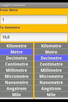 Measurement Converter apk screenshot