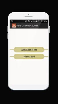 Calories Counter screenshot 2