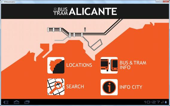 Alicante Bus And Tram poster