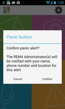 REM4 Alert apk screenshot