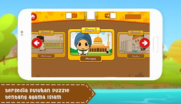 Puzzle Anak Muslim screenshot 1