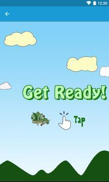 Floppy Chameleon poster