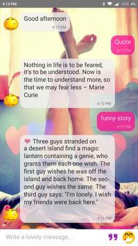 ... Virtual Boyfriend Girlfriend - Lovely chatbot apk screenshot ...