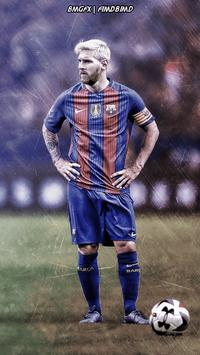 Messi Wallpaper HD poster