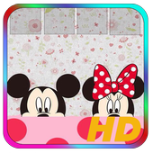 Mickey and Minie Mouse Wallpaper icon
