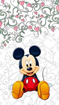 Mickey and Minie Mouse Wallpaper poster