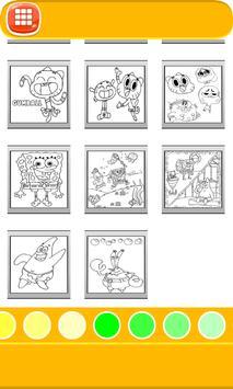 Cartoon Coloring Book apk screenshot