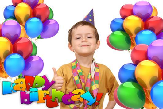 Birthday Photo Sticker apk screenshot