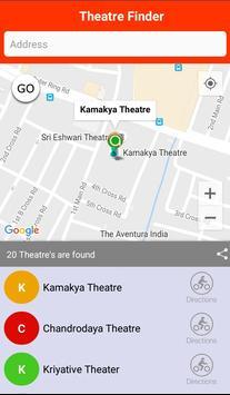 Theater Finder screenshot 1