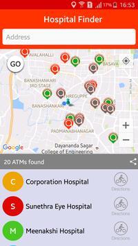 Hospital Finder screenshot 1