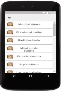 cumbia radios apk screenshot