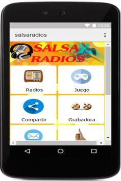 salsa radios apk screenshot