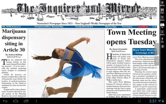 Nantucket Inquirer and Mirror poster
