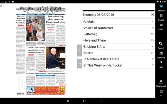 Nantucket Inquirer and Mirror apk screenshot