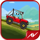 Hill Racing Amazing Gumball icon