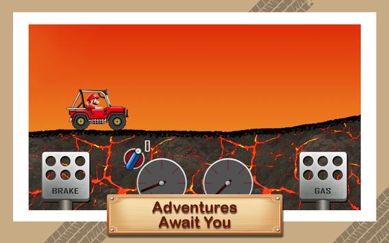 Hill Racing Super Hero Mario screenshot 3