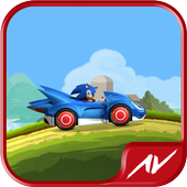 Hill Racing Sonic icon