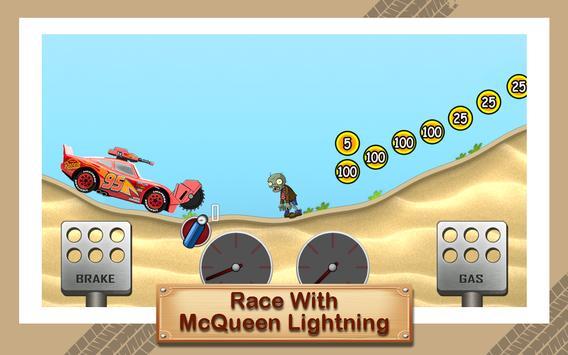 McQueen Lightning Zombie Road poster