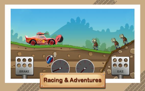 McQueen Lightning Zombie Road screenshot 1