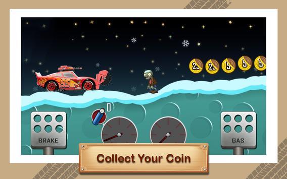 McQueen Lightning Zombie Road screenshot 2
