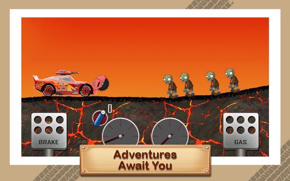 McQueen Lightning Zombie Road screenshot 7