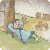 Lazybones becomes a cow icon