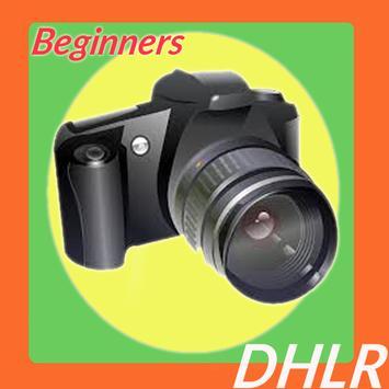 DSLR Photography Beginner Tip poster