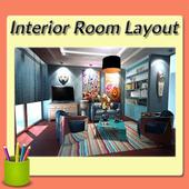 Interior Room Layout Design icon