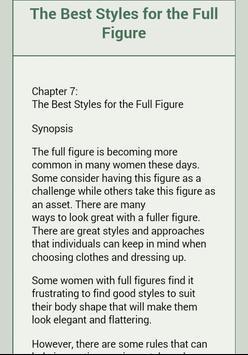 Fabulous Fashionista Ebook screenshot 3