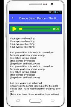 Dance Gavin Dance Lyrics poster